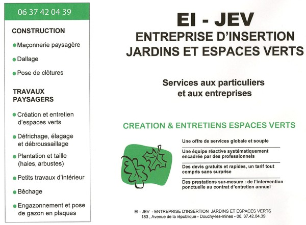 Espaces verts for Entretien espace vert entreprise